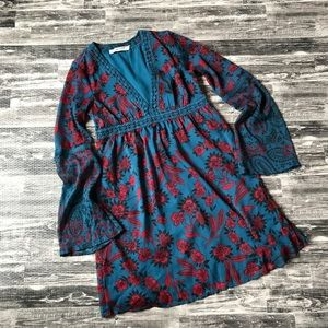 Abercrombie and Fitch Floral V- Neck Dress